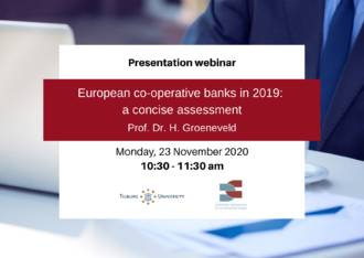 "Rapporto EACB ""European co-operative banks in 2019"""